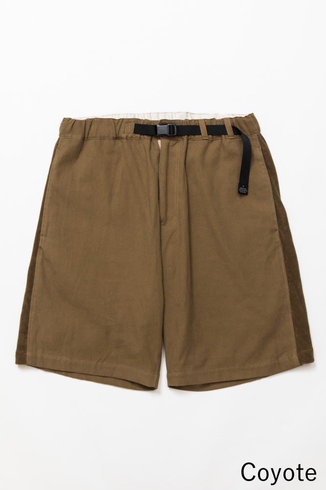 TF ショートパンツ ブロード織り風タオルクロス