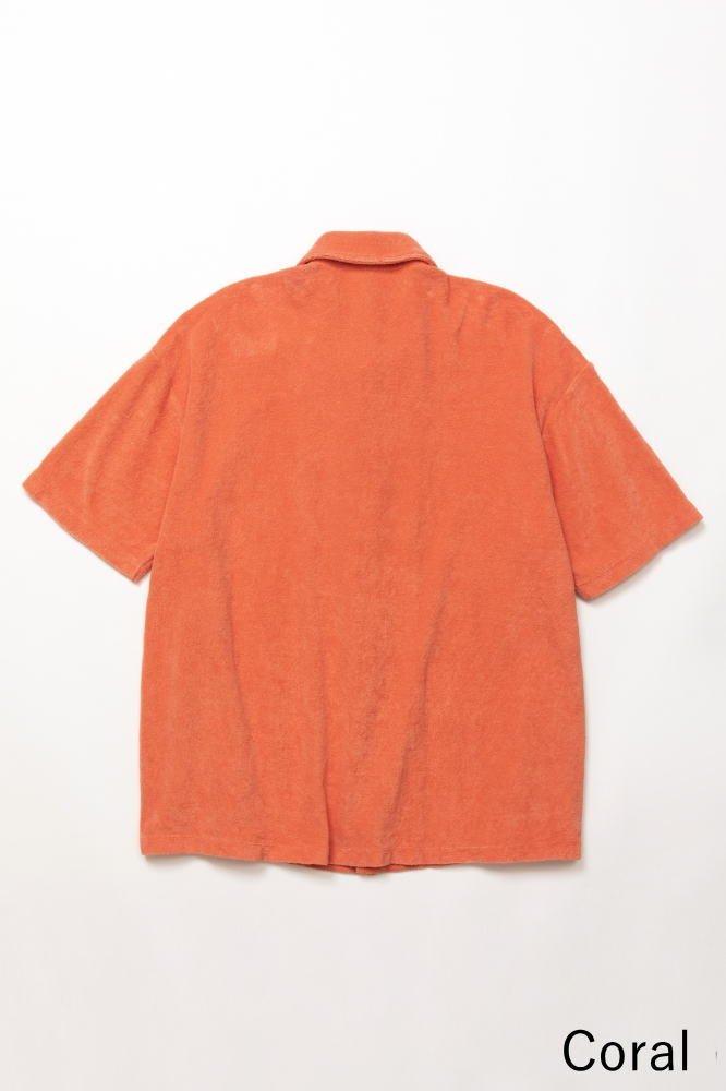 TF オープンカラーシャツ カットソー素材【画像2】