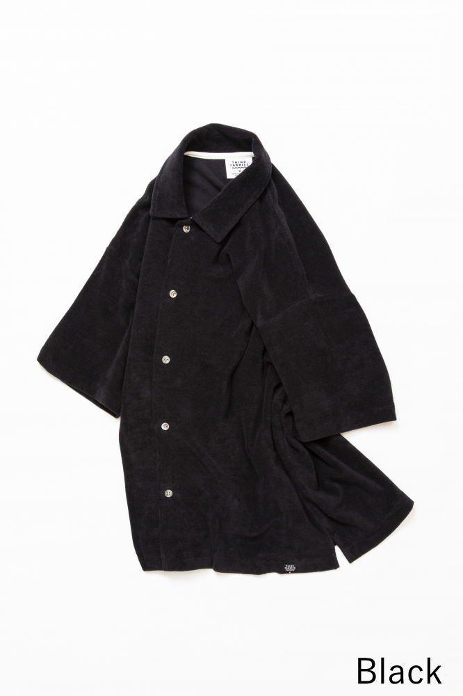 TF オープンカラーシャツ カットソー素材【画像3】