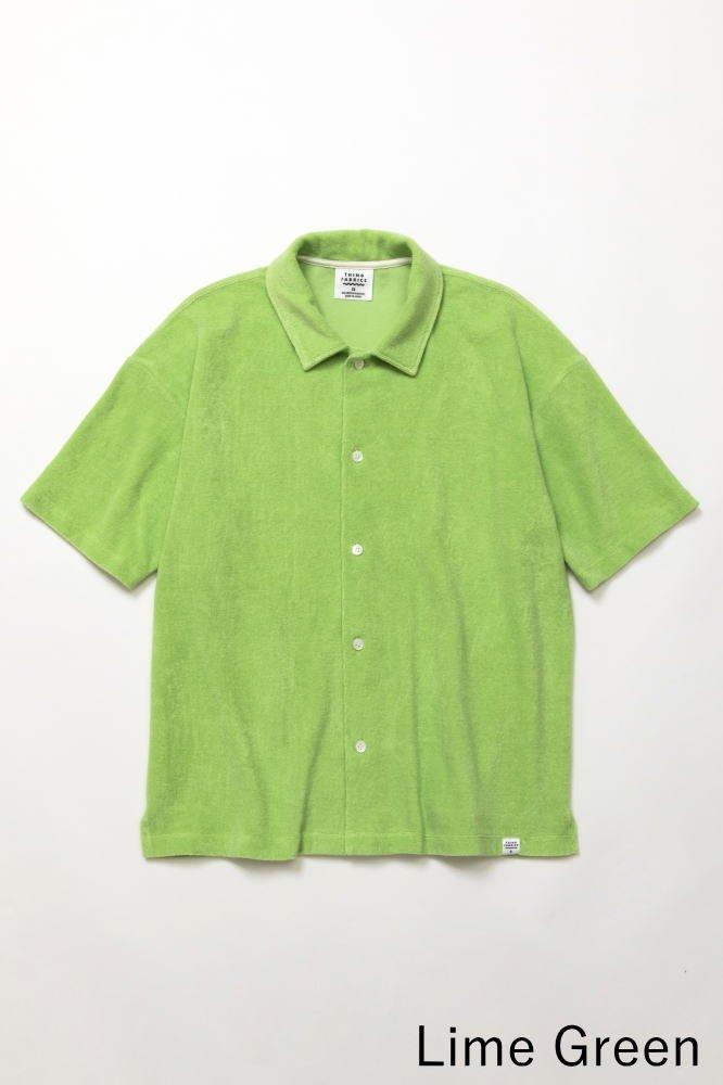 TF オープンカラーシャツ カットソー素材【画像4】