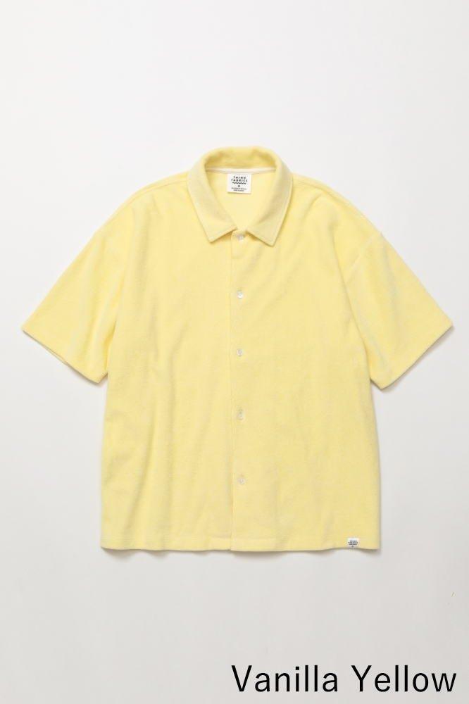 TF オープンカラーシャツ カットソー素材【画像5】