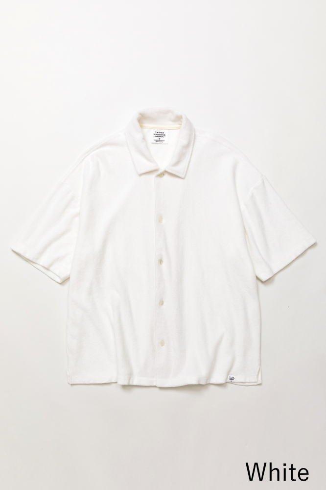 TF オープンカラーシャツ カットソー素材【画像6】