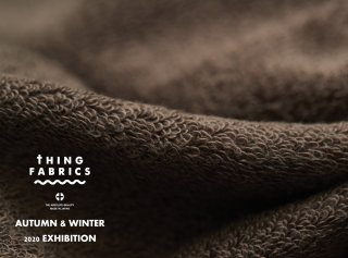 タオルケット THING FABRICS 2020AW EXHIBITION