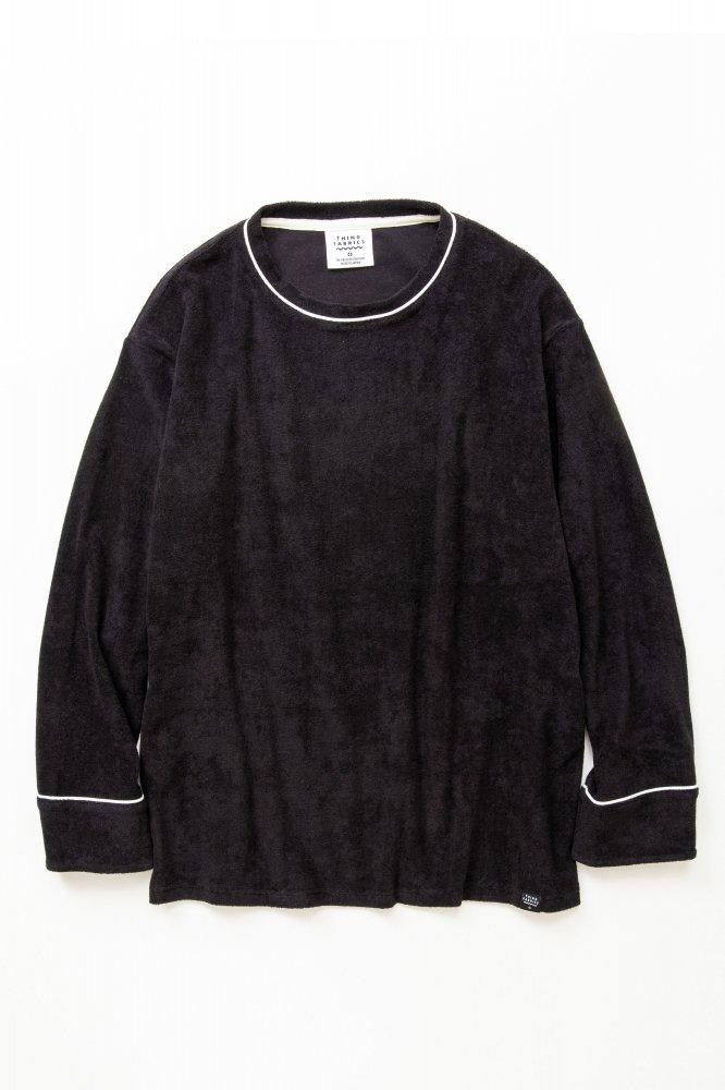 TF ロングスリーブパイピングTシャツ カットソー素材