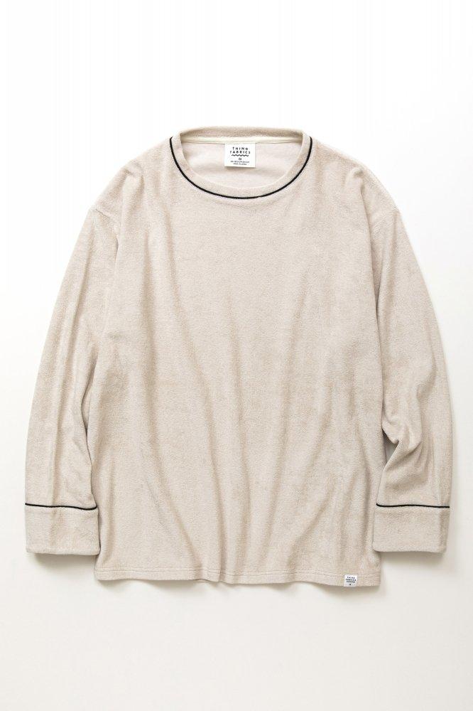 TF ロングスリーブパイピングTシャツ カットソー素材【画像3】