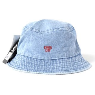 <img class='new_mark_img1' src='//img.shop-pro.jp/img/new/icons1.gif' style='border:none;display:inline;margin:0px;padding:0px;width:auto;' />KYOTO CITY DENIM BUCKET HAT
