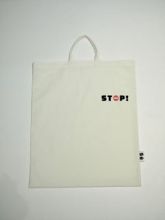 <img class='new_mark_img1' src='//img.shop-pro.jp/img/new/icons1.gif' style='border:none;display:inline;margin:0px;padding:0px;width:auto;' />STOP! TOTE BAG