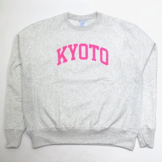<img class='new_mark_img1' src='https://img.shop-pro.jp/img/new/icons55.gif' style='border:none;display:inline;margin:0px;padding:0px;width:auto;' />KYOTO LOGO SWEAT(PASTEL)