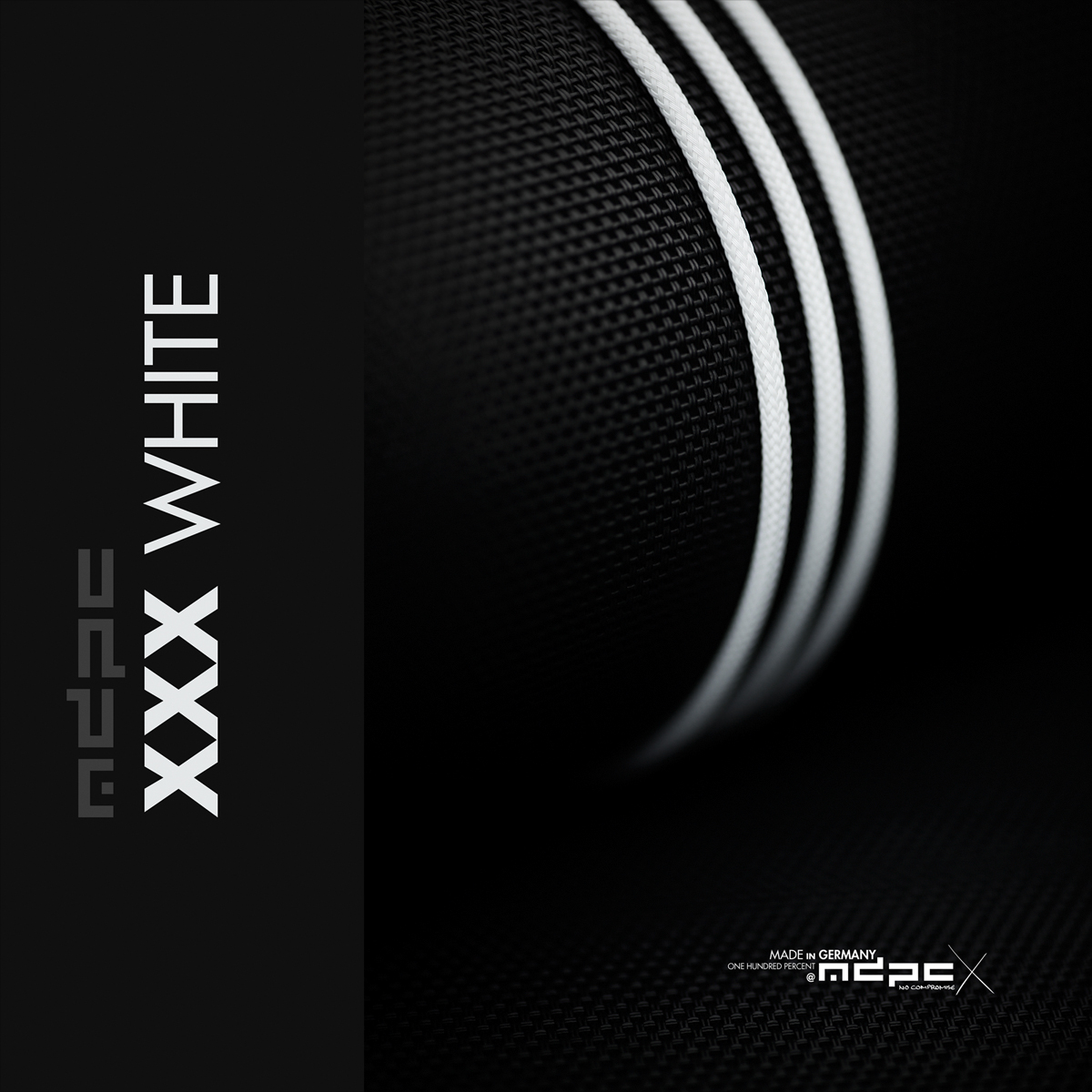 MDPC-X XXX-White Cable Sleeve XTC