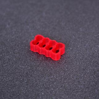 Red S-J Cable Combs 8pin