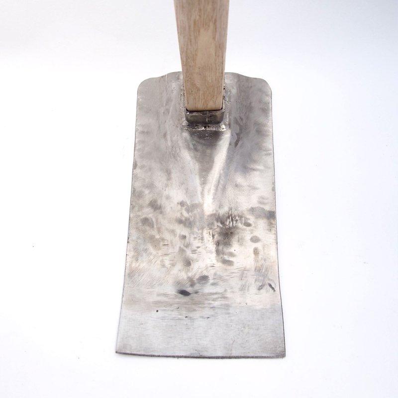 ステンレス鼻緒鍬(角)【送料無料】