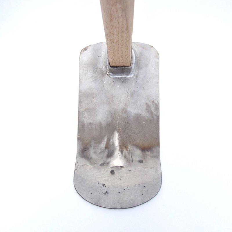 ステンレス鼻緒鍬(丸)【送料無料】