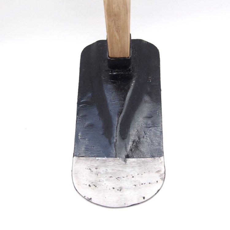 鉄鼻緒鍬(丸)【送料無料】