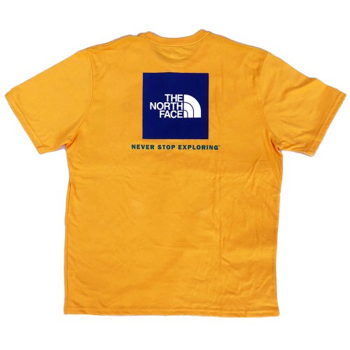 THE NORTH FACE NEVER STOP EXPLORING  TEE YELLOWCOLOR (MENS)