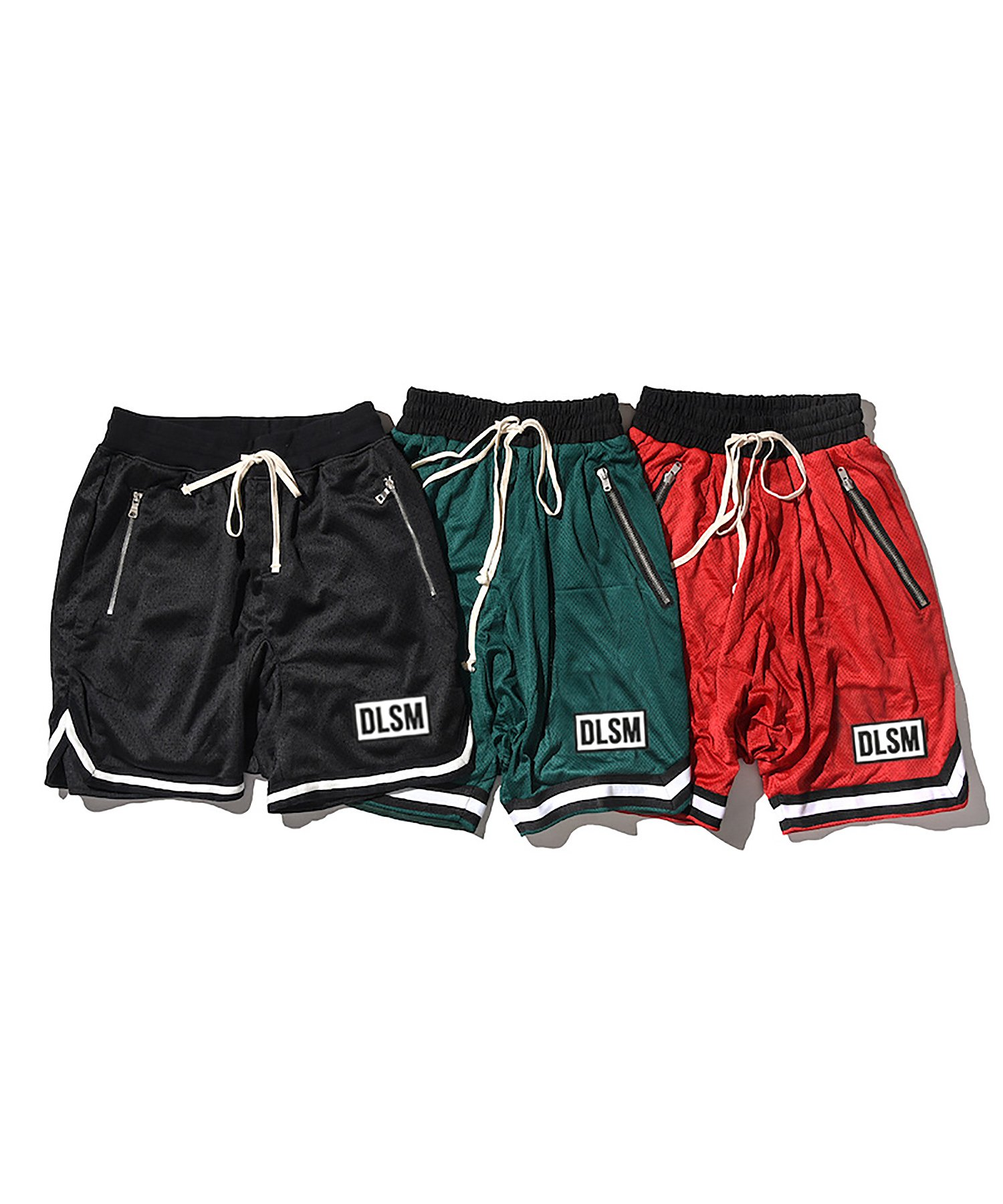 DLSM WAPPEN BASKETBALL MESH SHORTS