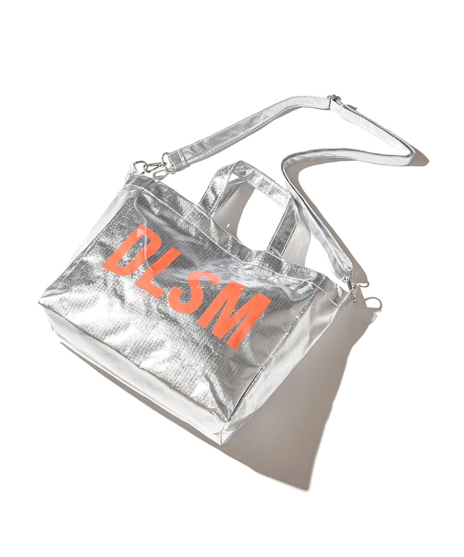 DLSM PVC SHOULDER TOTE BAG