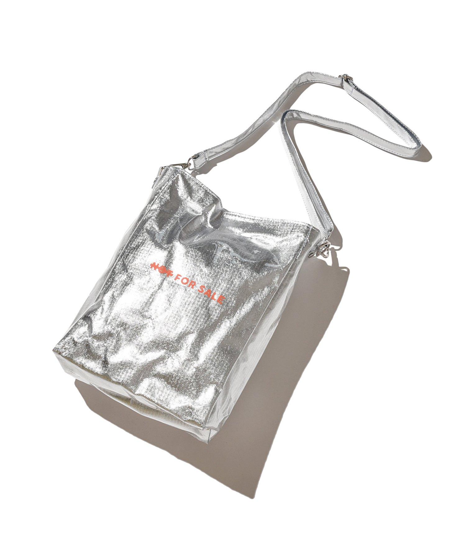 DLSM PVC SHOULDER BAG