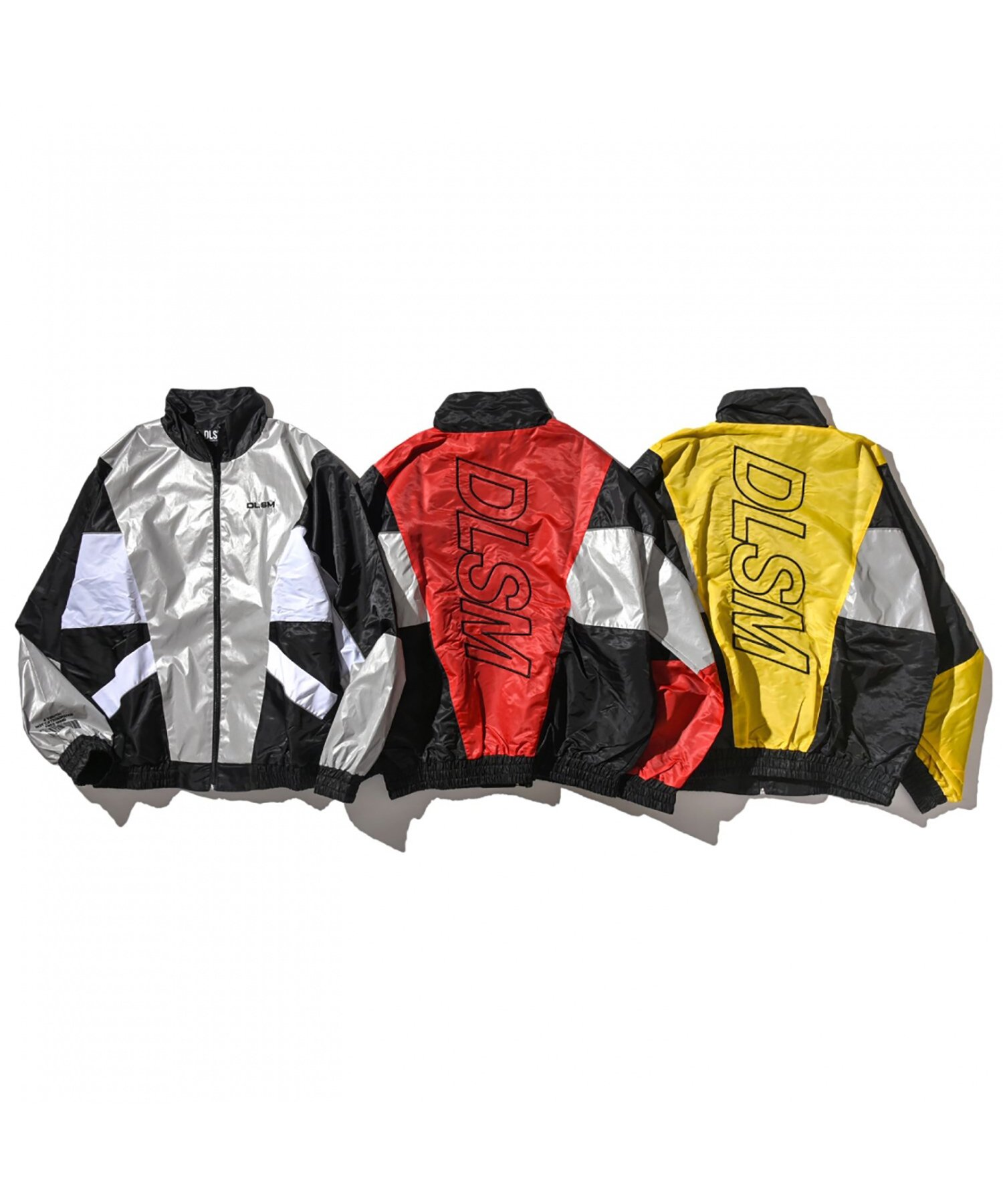 DLSM NYLON REFLECT CUTTING TRUCK JACKET