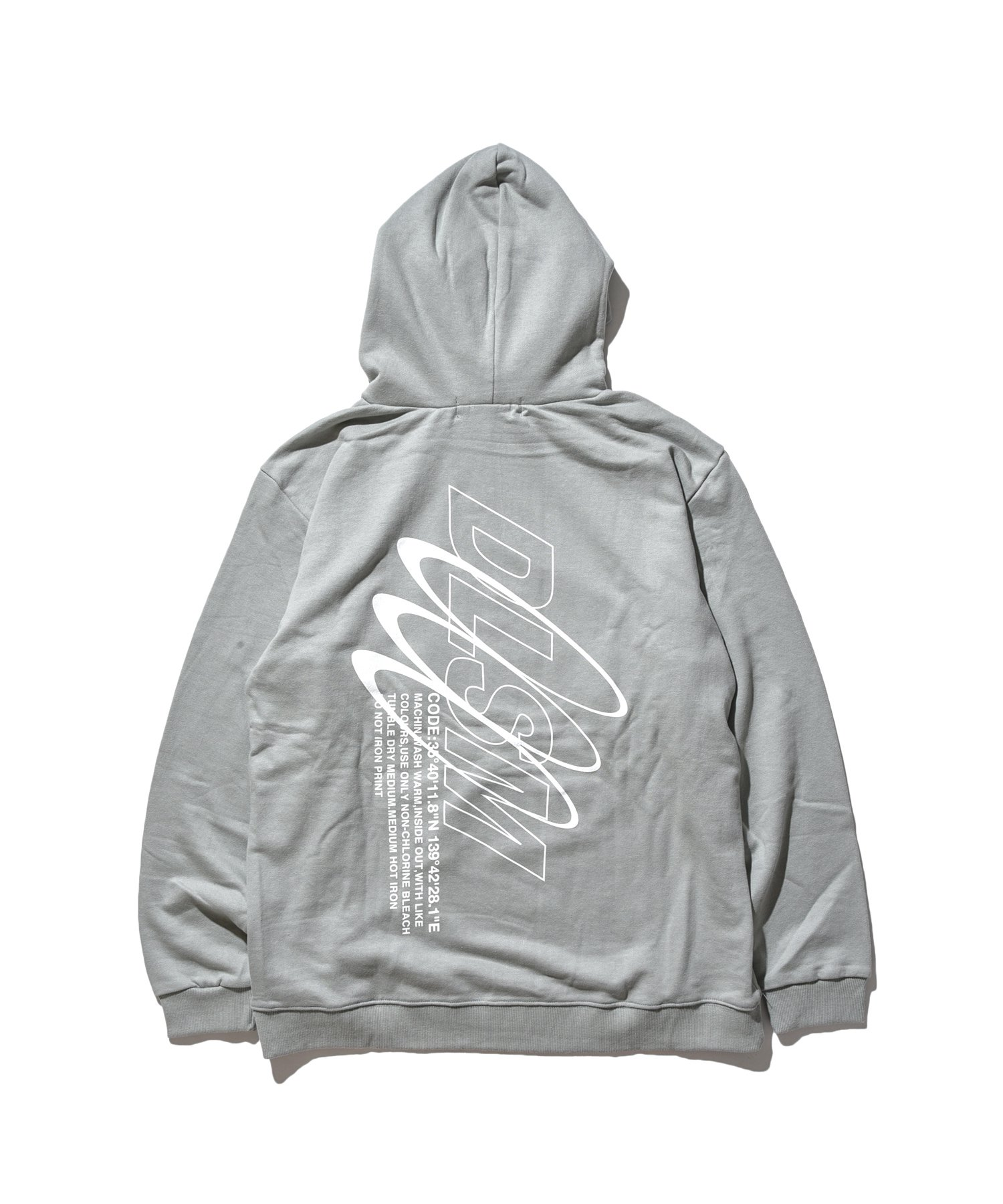 REFLECT LINE LAYER HOODIE