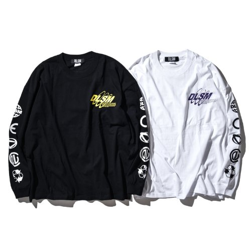DLSM FUTURE REFLECT LOGO L/S TEE
