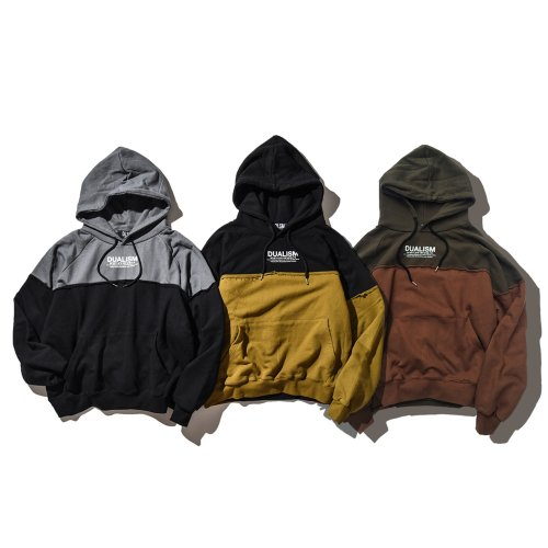 DUALISM COLOR SWITCH HOODIE