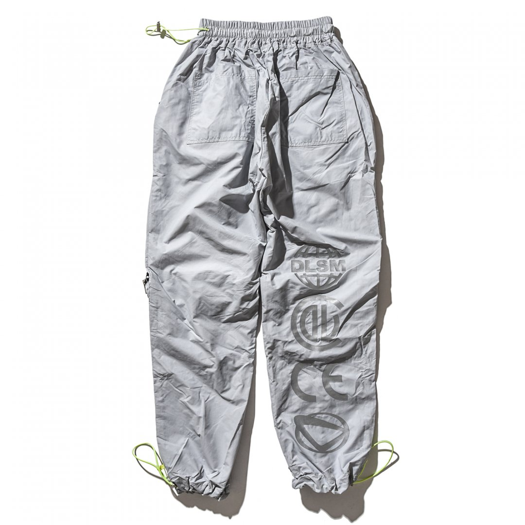 QUALITY LOGO ZIP POCKET PANTS