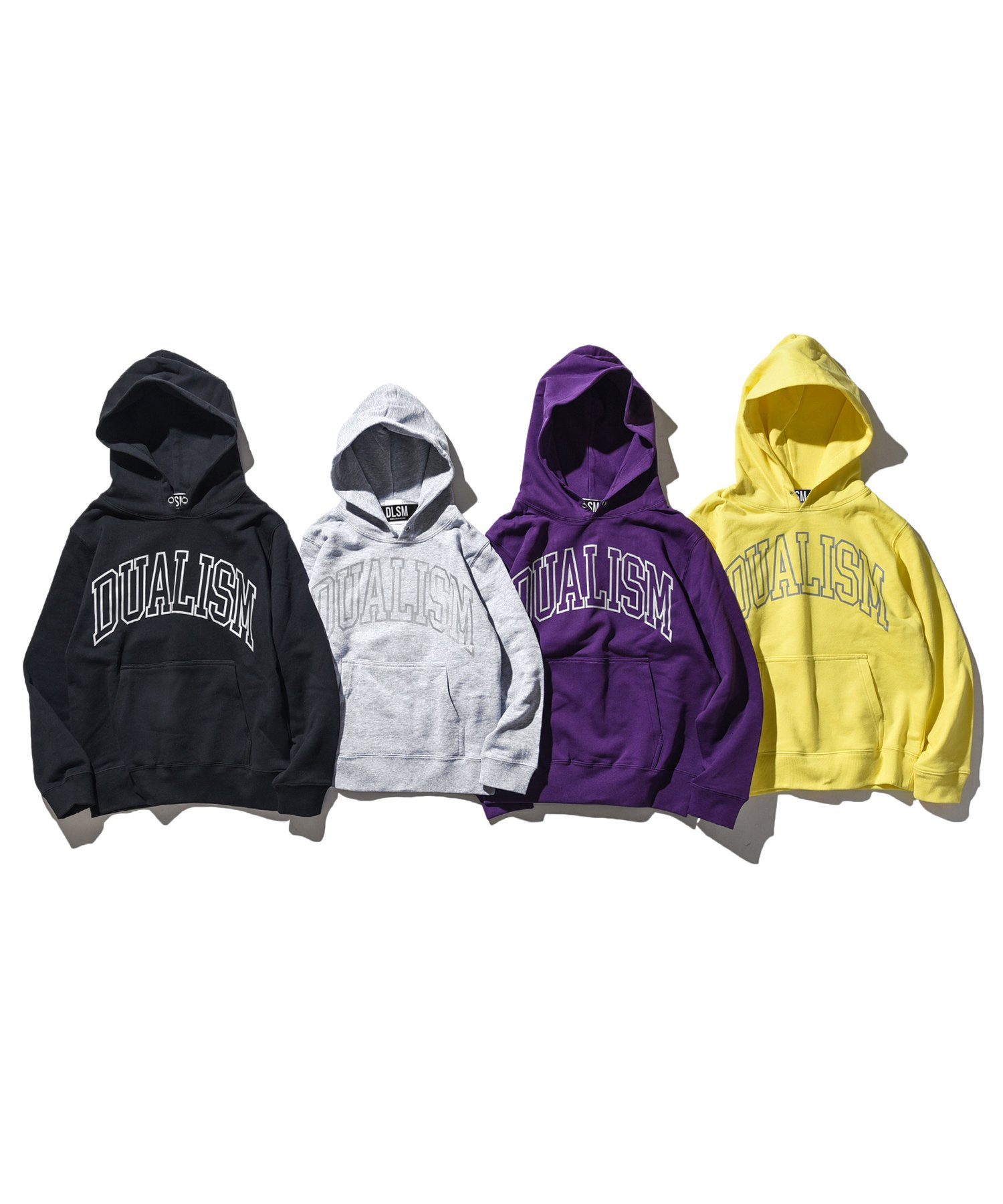 《KIDS SIZE》DUALISM OUTLINE ARCH LOGO HOODIE