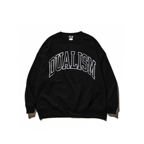 《KIDS SIZE》DUALISM OUTLINE ARCH LOGO CREW NECK