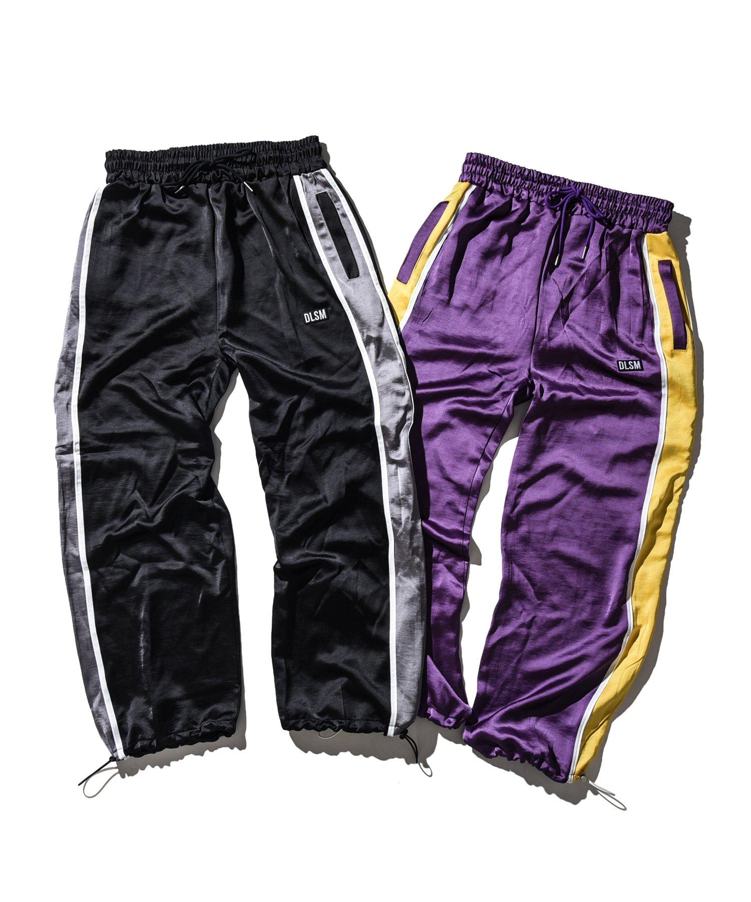 SHINY SIDE LINE PANTS