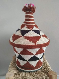 morocco BERBER BASKET<img class='new_mark_img2' src='//img.shop-pro.jp/img/new/icons4.gif' style='border:none;display:inline;margin:0px;padding:0px;width:auto;' />