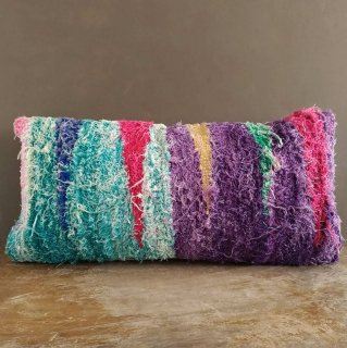 Boucherouite Kilim Cushion Cover