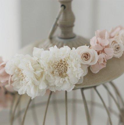 バニラピンクの花冠
