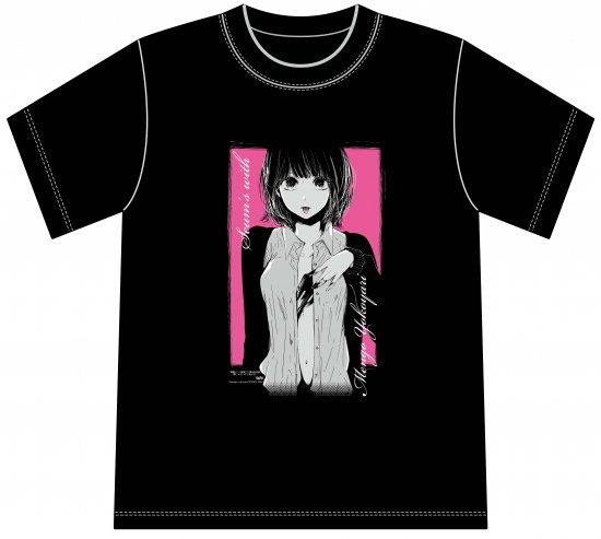 横槍メンゴ画業10周年記念展 Tシャツ(クズの本懐)