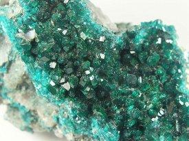 Dioptase:翠銅鉱(ナミビア産)