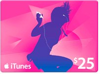 アメリカ版 iTunes Music Card $25