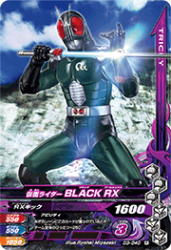 D3-040 R 仮面ライダーBLACK RX