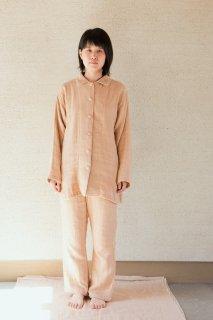 クルミボタンのパジャマ