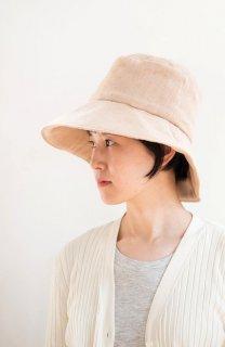 日よけ帽(茶綿ガーゼ)