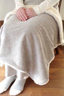 Organic Cotton Fur ブランケット【グレー】