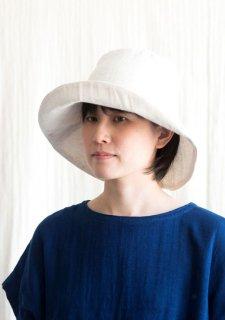 Organic Cotton 日よけ帽【リネンコットンWガーゼ】