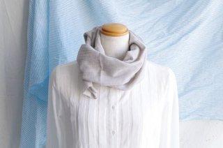日除け&冷房対策Organic Cotton コンパクトマフラー【ヤクビエラ】