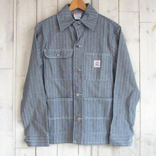 PONTER BRAND Fisher Stripe Chore Coat(ポインター/カバーオール/ヘリンボーン)