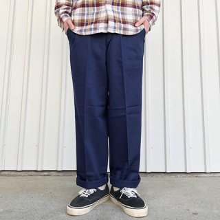 RED KAP - PC20 WRINKLE-RESISTANT COTTON WORK PANT / NAVY レッドキャップ ワークパンツ ネイビー