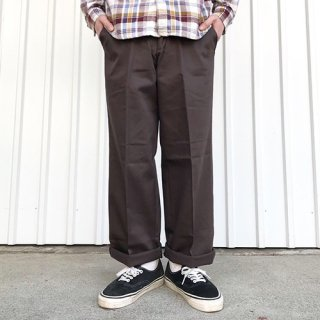 RED KAP - PC20 WRINKLE-RESISTANT COTTON WORK PANT / BROWN レッドキャップ ワークパンツ ブラウン