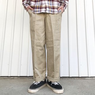 RED KAP - PC20 WRINKLE-RESISTANT COTTON WORK PANT / KHAKI レッドキャップ ワークパンツ カーキ