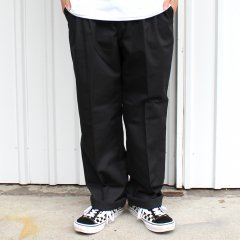 RED KAP / PT32 PLEATED INDUSTRIAL WORK PANTS - BLACK レッドキャップ ワークパンツ ブラック