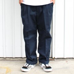 RED KAP / PT32 PLEATED INDUSTRIAL WORK PANTS - NAVY レッドキャップ ワークパンツ ネイビー