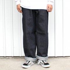 夕陽のTシャツ ORIGINAL DENIM PANT (RIGID) - INDIGO オリジナルデニムパンツ リジッド インディゴ