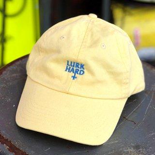 LURK HARD / FLAG POLO HAT - YELLOW ラークハード キャップ イエロー