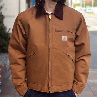 CARHARTT / DUCK DETROIT JACKET - BROWN カーハート ダックデトロイトジャケット ブラウン